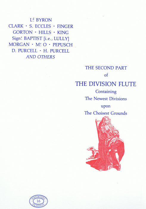 Various: The Second Part of The Division Flute