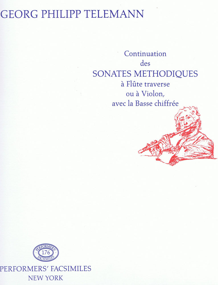 Telemann: Continuation des Sonates Metodiches for Violin or Flute and Continuo