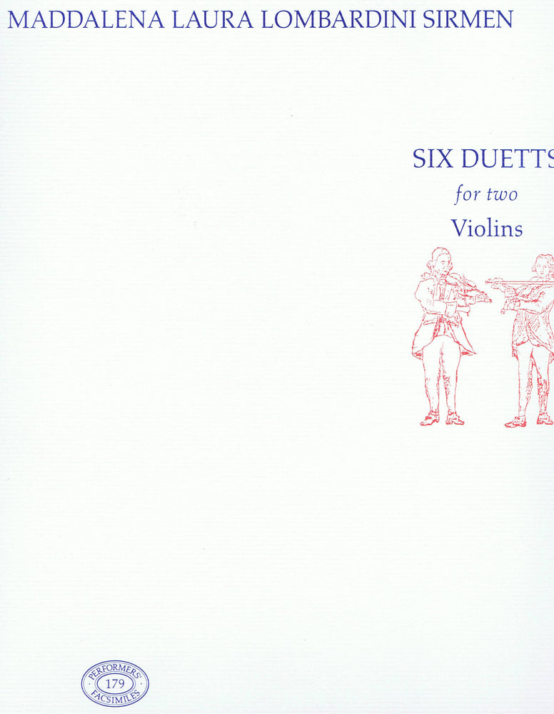 Sirmen: Six Duetts for two Violins