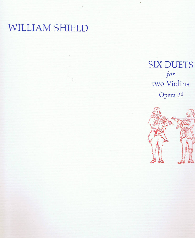 Shield: Six Duets for two Violins