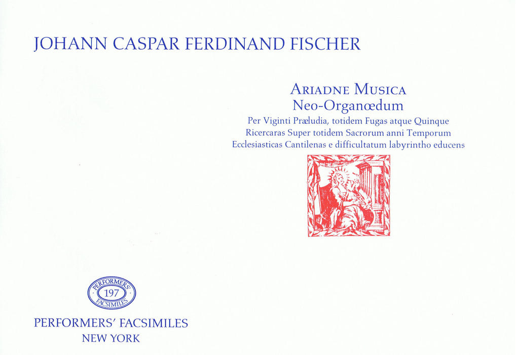 Fischer: Ariadne Musica for Keyboard