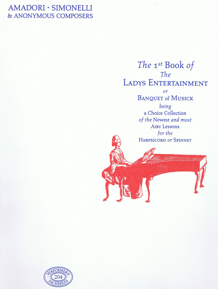 Various: The First Book of The Ladys Entertainment or Banquet of Musick