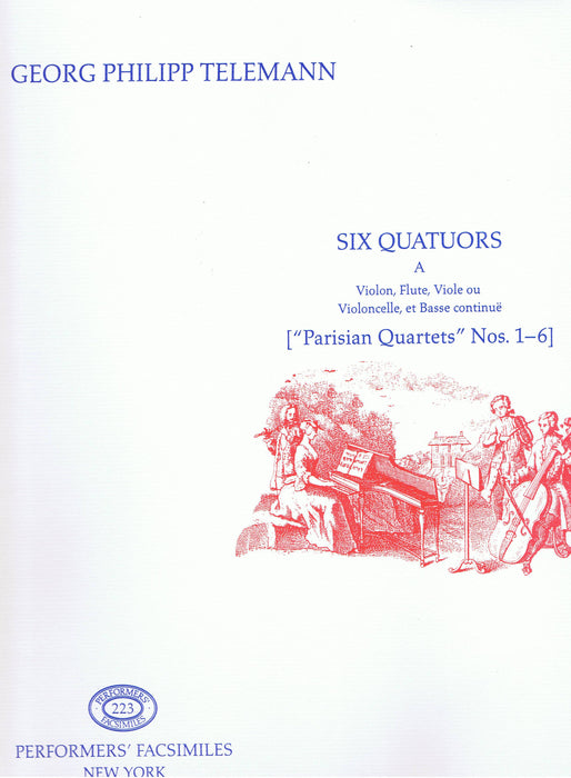 Telemann: Paris Quartets Nos. 1-6