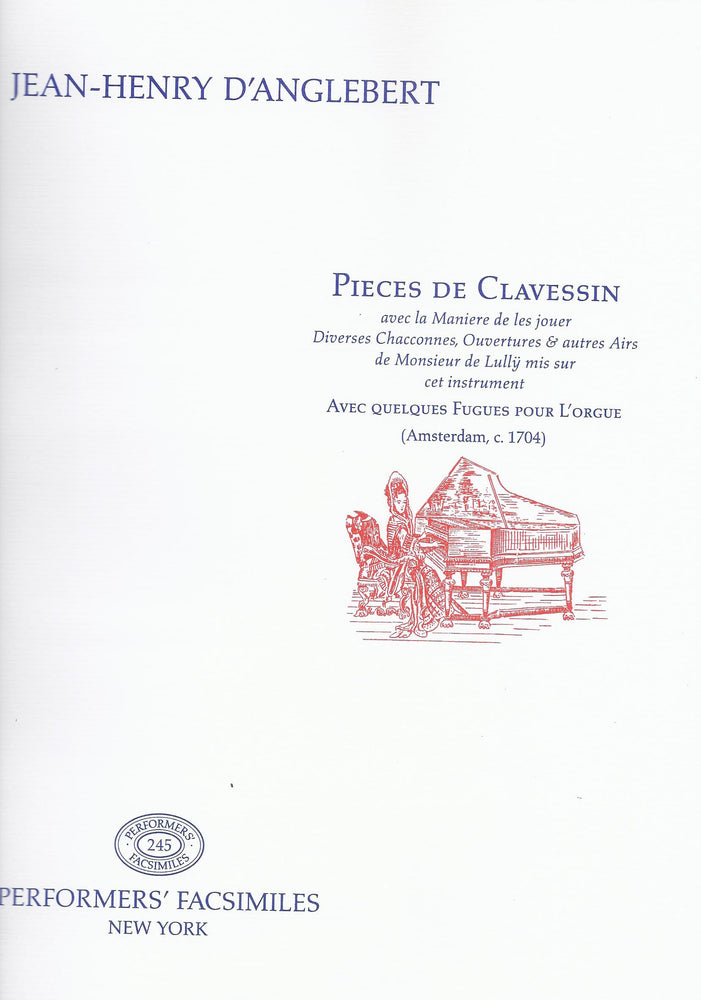 D'Anglebert: Pieces de Clavessin