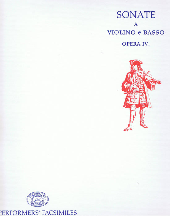 Geminiani: Sonatas for Violin and Basso Continuo, Op. 4