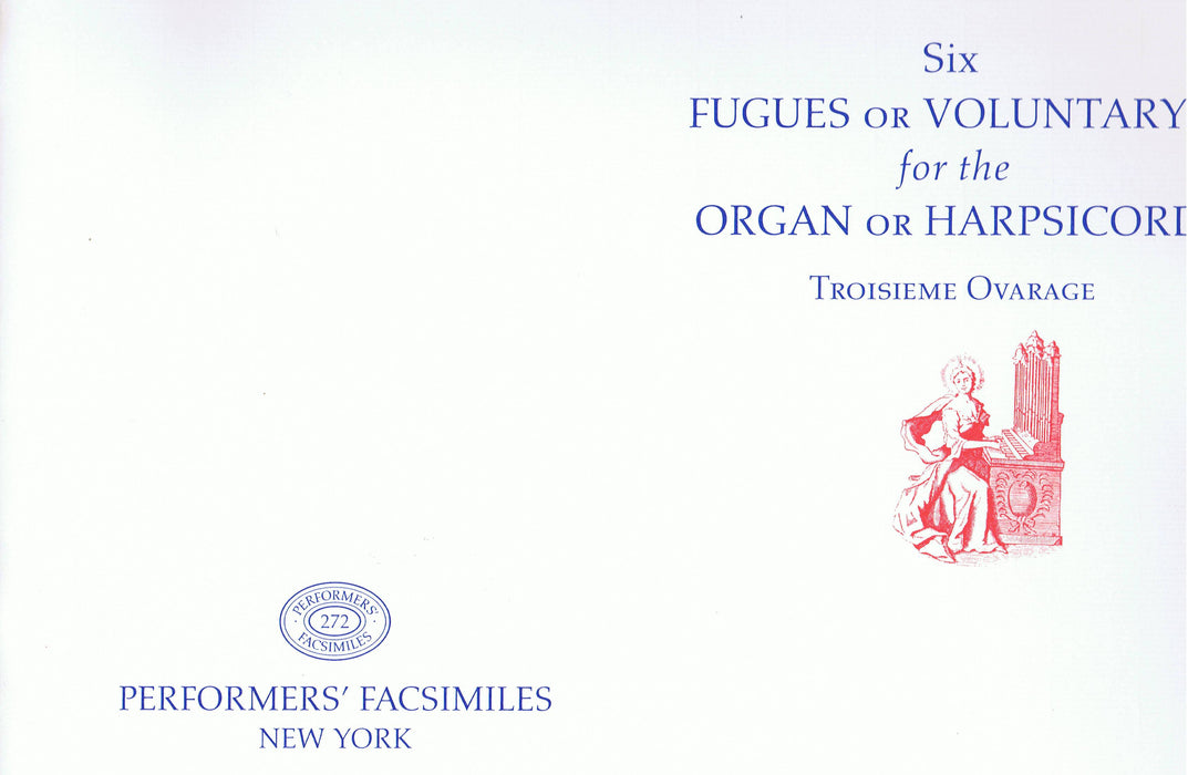 Handel: Six Fugues or Voluntarys for the Organ or Harpsichord