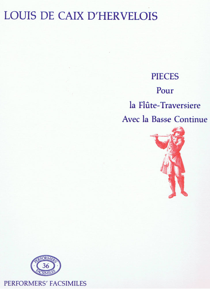 Caix d'Hervelois: Pieces for Flute and Basso Continuo