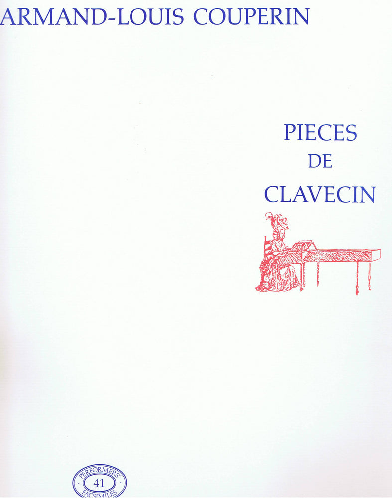 Armand-Louis Couperin: Pieces de Clavecin
