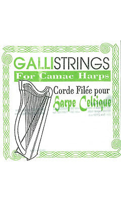5th Octave B - Bass Wire Lever Harp String by Galli Strings