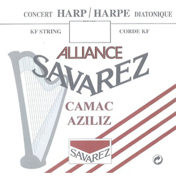 5th Octave D - Alliance® Fluorocarbon KF HKA26 Harp String by Saverez - CAM6KFHC26