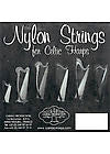 4th Octave G - Standard Gauge Nylon Lever Harp String by Camac
