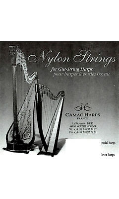 1st Octave C - Nylon string for Gut Stringed Pedal or Lever Harp