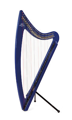 Camac DHC 36 Blue Light Electro Harp in Blue