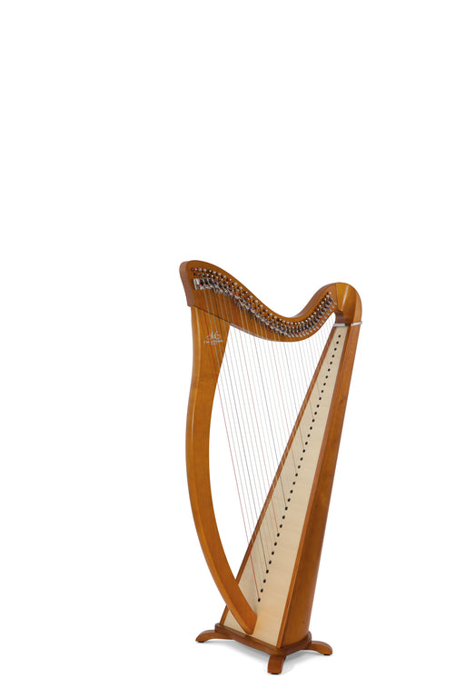 Camac Hermine 34 String Harp in Cherrywood