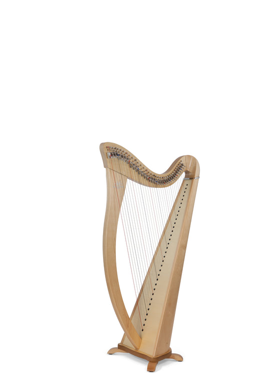 Camac Hermine 34 String Harp in Maple