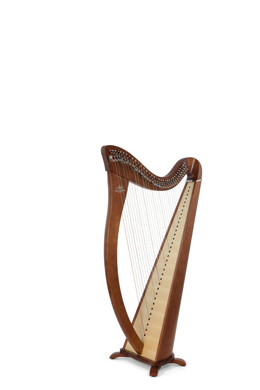 Camac Hermine 34 String Harp in Walnut