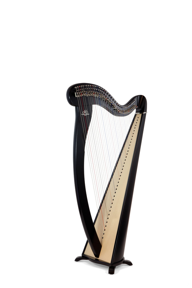 Camac Melusine 38 String Harp in Ebony