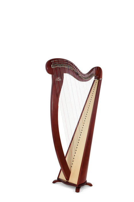 Camac Melusine 38 String Harp in Mahogany