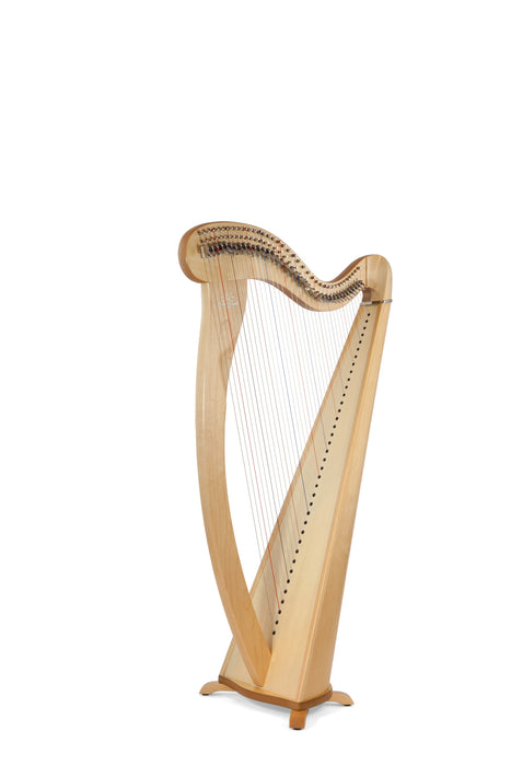 Camac Melusine 38 String Harp in Maple