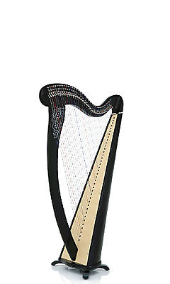 Camac Melusine De Concert 38 String Harp in Ebony