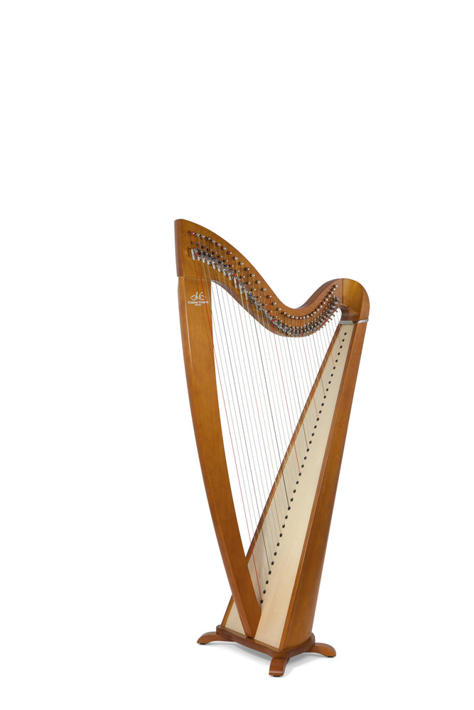 Camac Telenn 34 String Harp in Cherrywood