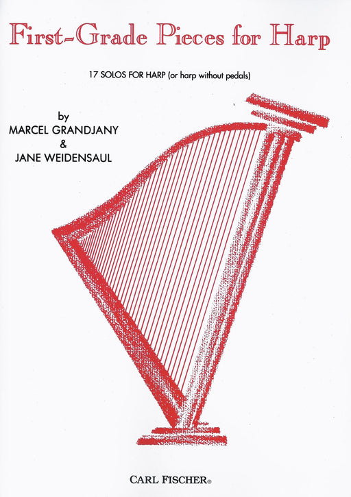 Grandjany & Weidensaul: First-Grade Pieces for Harp