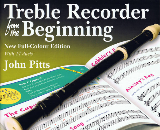 Pitts: Treble Recorder from the Beginning - New Full-Colour Edition