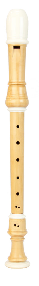 Coolsma Soprano Recorder after Terton in European Boxwood with Decoration (a=415)