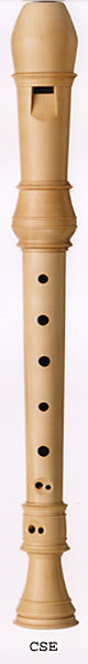 Coolsma Soprano (Descant) Recorder in European Boxwood