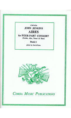 Jenkins: Aires for Four-Part Consort - Book One
