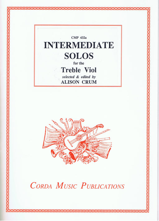 Crum (ed.): Intermediate Solos for the Treble Viol