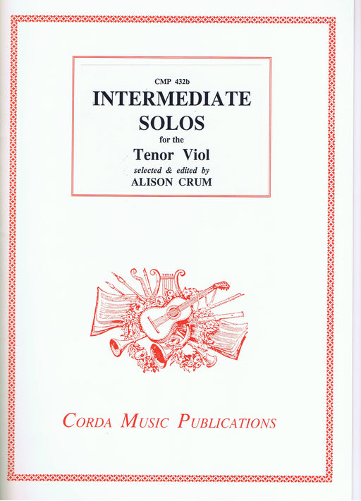 Crum (ed.): Intermediate Solos for the Tenor Viol