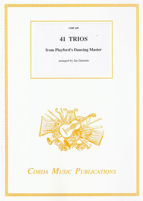 Various: 41 Trios from Playford's Dancing Master