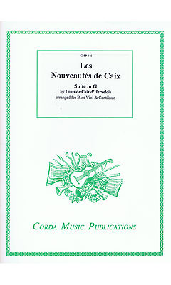 Caix d'Hervelois: Suite in G for Bass Viol and Continuo