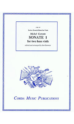 Corrette: Sonata No 1 for 2 Bass Viols