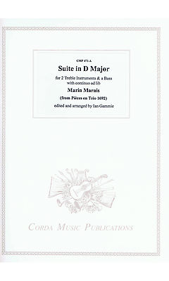 Marais: Suite in D Major for 2 Treble instruments and Bass