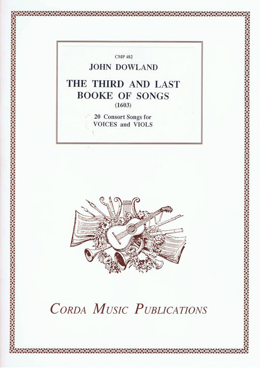 Dowland: The Third and Last Booke of Songs (1603)