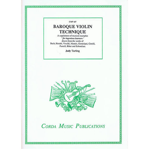 "Tarling: Baroque Violin Technique - a supplement for ""ingenious learners"""