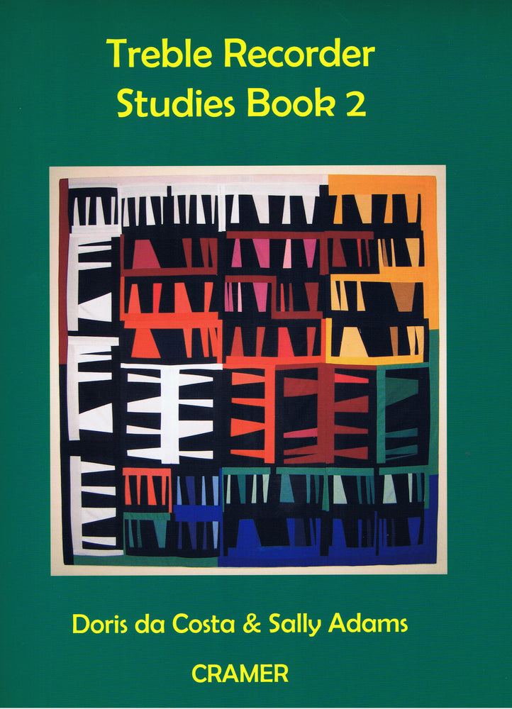 Da Costa & Adams: Treble Recorder Studies Book 2
