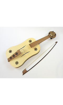 Tomasz Czypul -  4 or 5 String Medieval Fiddle Semi Rigid Hard Case