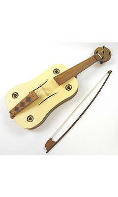 Tomasz Czypul - 5 String Medieval Fiddle including bow