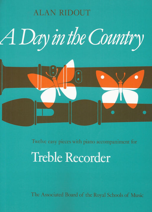 Ridout: A Day in the Country for Treble Recorder and Piano