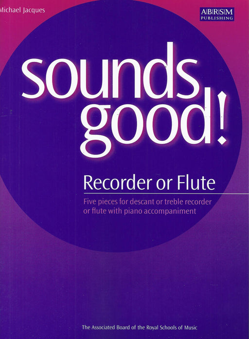 Jacques: Sounds Good! for Recorder