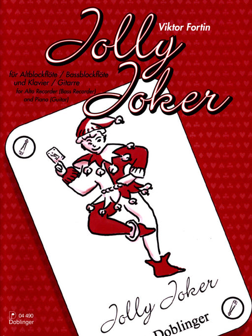 Fortin: Jolly Joker for Recorder and Piano