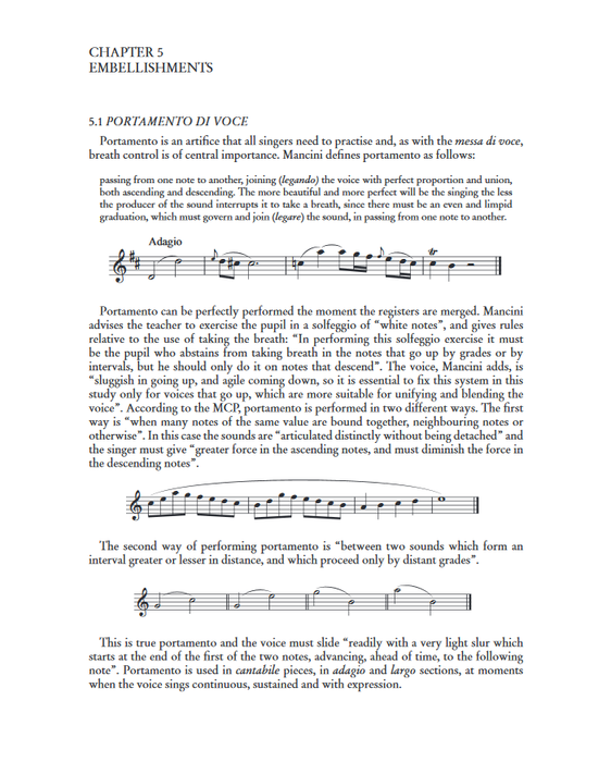 Barazzoni: Method of Italian Singing from 'Recitar cantando' to Rossini