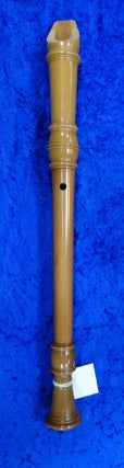 "3929S Mollenhauer Alto Recorder ""Flauto Dolce"" in Pearwood - in fair condition - with box."