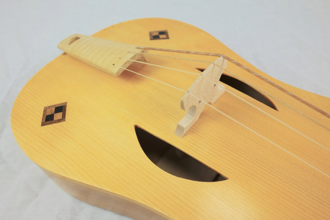 Marco Salerno 4 String Medieval Fiddle - Strasbourg model