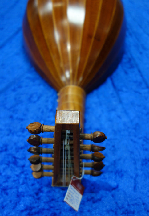 3969S  6 Course Renaissance Lute after Georg Gerle c1550 by Stephen Haddock 2011 - string length approx 600mm - with EMS hard case - in very good condition.