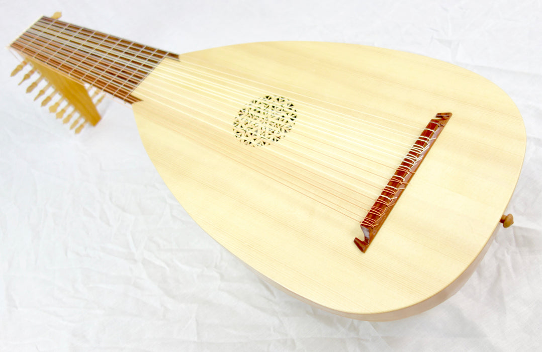Haddock 11-Course Baroque Lute after Hans Frei