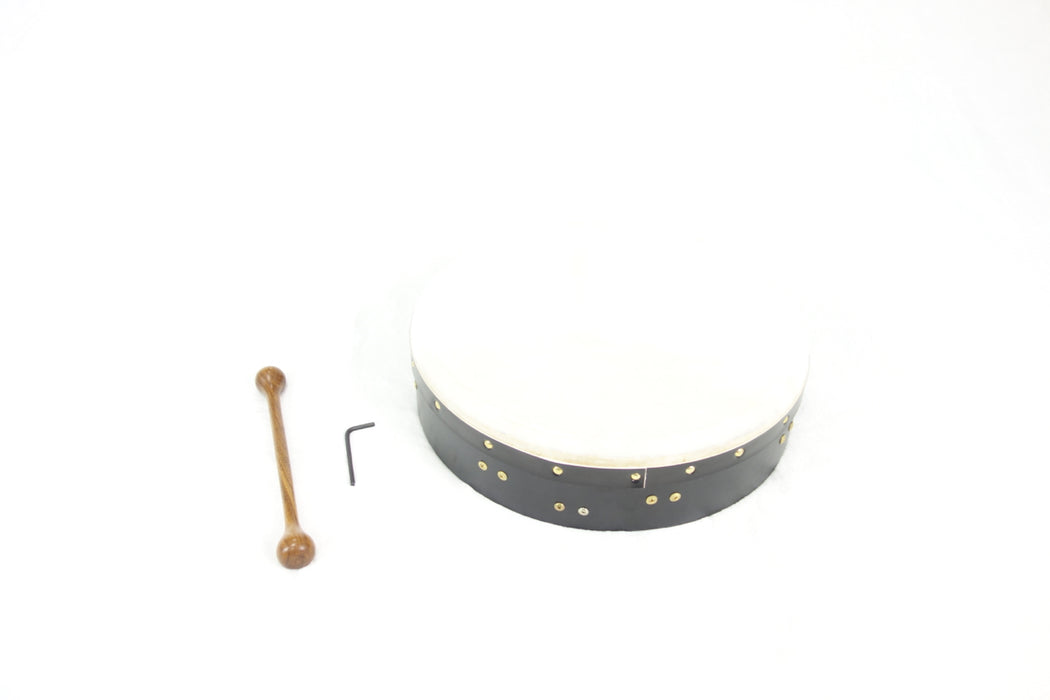 "EMS 14"" x 3.5"" Tuneable Bodhran in Black"
